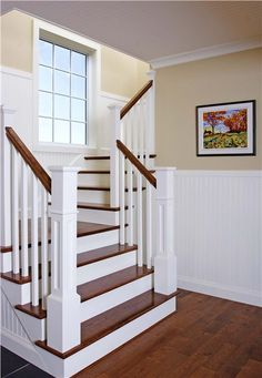 great stairwell . Would want to think about drawers or storage options built into stairs