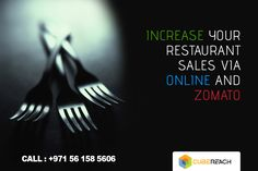 Are you finding hard to manage your online presence? We can help you out in COMPLETELY MANAGING your online presence of your restaurant. We will also manage your ZOMATO account. Contact us today to know more about how to increase your sales of your restaurant.