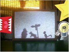 Check out instructions at..       http:/                               domesticblissnz.blogspot.com/2012/10/diy-shadow-puppet-theatre.html?m=1