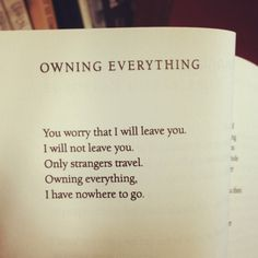 """Owning Everything"" by Leonard Cohen #poetry #LeonardCohen"