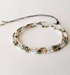 Beaded Bracelet Patterns, Beaded Wrap Bracelets, Seed Bead Bracelets, Seed Bead Jewelry, Handmade Bracelets, Seed Beads, Diy Jewelry, Beaded Jewelry, Handmade Jewelry