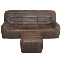 """1970s Sofa and Ottoman Model """"DS 84"""" by De Sede"""