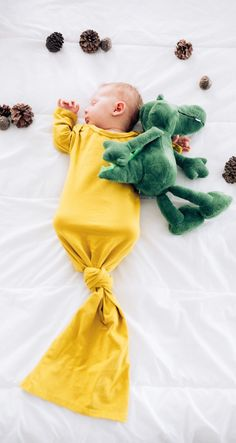 These ultra soft sleepers will have your little one sleeping through the night in style and comfort.