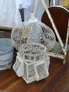 Antique bird cage by Blue Apocalypse, via Flickr