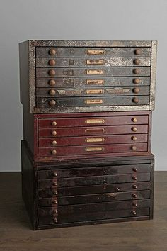 vintage watchmaker cabinet; I want these!!  I have a weakness for boxes/cabinets like this.