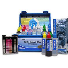 Pool Water Testing and Kits 181059: Taylor K-2005C Chlorine Bromine Complete Test Kit For Swimming Pool And Spa -> BUY IT NOW ONLY: $78.99 on eBay!