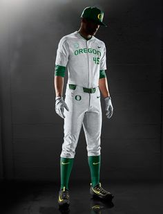 Nike Vapor Elite Baseball Uniform - Oregon Ducks