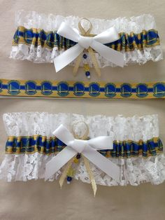 "Golden State ""Warriors"" Garters by SportzNutty on Etsy"
