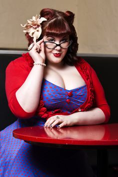 Welcome to Curves Galore, a top rated sexy BBW dating site full of curvy women lusting after naughty nights. Make dirty memories and start BBW dating here Curvy Fashion, Plus Size Fashion, Womens Fashion, Plus Size Rockabilly, Rockabilly Ideas, Marianne James, Plus Sise, Plus Size Girls, Plus Size Beauty
