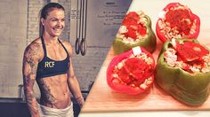 CrossFit star Christmas Abbott shares her favorite post-workout meal -- and it's one that reminds her of her mom's home cooking.
