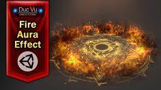 Game Effect Tutorial - Fire aura - DucVu FX