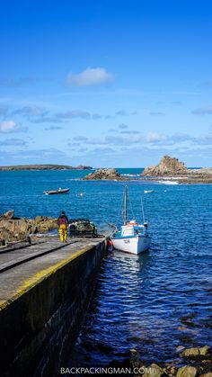 Fishing boat on St Agnes Island in the Isles of Scilly. Going Fishing, Best Fishing, Fishing Tips, Fishing Lures, Fishing Boats, Fly Fishing, Fishing Cart, Saltwater Fishing, Fishing Tackle