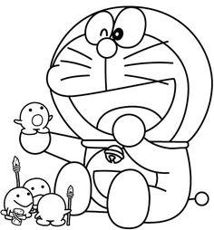 10 Mewarnai Gambar Doraemon | bonikids