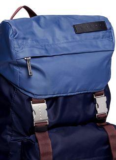 Marni | Colourblocked tech fabric backpack
