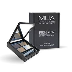 MUA Brow Kit - Fair/Mid Make Up Academy Omg my favourite eyebrow kit ever xx