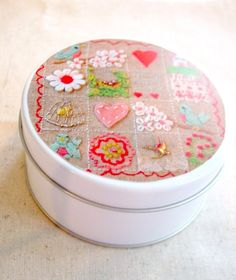 stitchalong kit no 2: adorable little embroidery starter kit