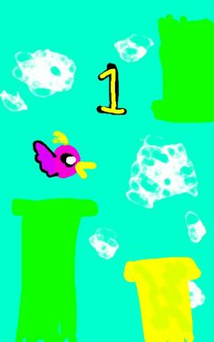Ashley Bird! Replica of Flappy Bird!