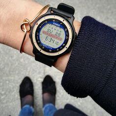 Pour vous, dénicheurs de #montres #vintage, la #casio Horoscope saura vous combler !