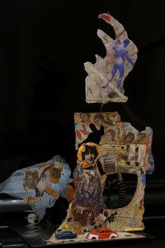 "The backside of ""Prima Materia"" by Elena Sakharnaya."