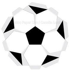 3D Soccer Ball Birthday Card