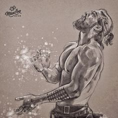 The climber ✨ #jasonmomoa #drawing #readytogo #JasonMomoaFanArt