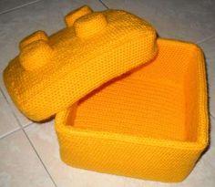 Mesmerizing Crochet an Amigurumi Rabbit Ideas. Lovely Crochet an Amigurumi Rabbit Ideas. Crochet Lego, Crochet Box, Cute Crochet, Crochet For Kids, Crochet Crafts, Crochet Dolls, Crochet Projects, Knit Crochet, Crochet Baskets