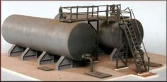 Fuel Oil Depot - Knightwing Model Railway - OO Gauge Plastic Kit