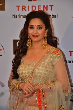 Madhuri Dixit-Nene at the Launch of 'Power Women' campaign in Mumbai Bollywood Actress Hot Photos, Indian Bollywood Actress, Bollywood Girls, Beautiful Bollywood Actress, Beautiful Actresses, Indian Actresses, Beautiful Girl Photo, Beautiful Girl Indian, Most Beautiful Indian Actress