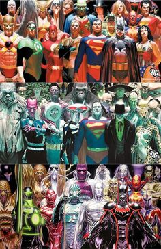 ✭ Justice League Heroes by Alex Ross:
