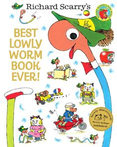 """A new book featuring Richard Scarry's Lowly Worm was published 50 years after the first edition of the classic """"Best Word Book Ever."""" His son found the manuscript and completed it. What is your favorite Scarry character? (Photo: Harper Collins)"""