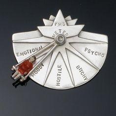 SALE 25% off - PMS Meter pin on Etsy, $170.08 AUD