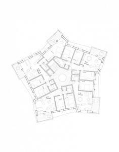 Wohnsiedlung Schönauring - Zurich - Sistemas - GraberPulver - 2012. Arquitectura. Dibujos. Plantas. Vivienda colectiva. Viviendas