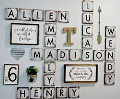 62 best ideas for family games room scrabble letters Farmhouse Wall Decor, Farmhouse Style Decorating, Farmhouse Signs, Farmhouse Windows, Rustic Farmhouse, Scrabble Wand, Scrabble Tiles, Scrabble Letters, Rustic Home Interiors