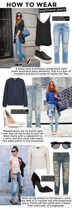 How to Wear Boyfriend Jeans - Corri McFaddenCorri McFadden