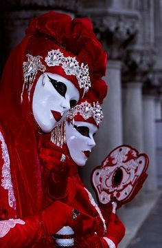 Their country has a festival in which everyone dresses up and wears a full mask. They often pretend to be someone else, and are not allowed to reveal themselves. It is meant to bring the different classes together.