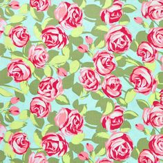 Shop Amy Butler Tumble Roses Pink Fabric at onlinefabricstore.net for $9.5/ Yard. Best Price & Service.
