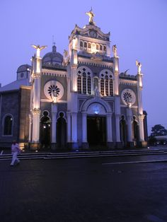 La Basilica; most famous catholic church in Costa Rica.