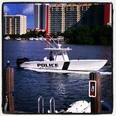 Bal Harbour #Police #Boat, Florida www.tweepyshop.com