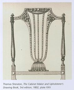 """""""Delicate chairs of shield back form, light inlays, sections of low relief carving all combine to form a dedicated move away from the earlier, heavier work of Thomas Chippendale."""""""