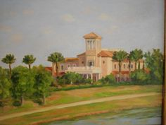 Lakewood Ranch Golf Club House, Myakka and two granddaughters Lakewood Ranch, Granddaughters, Golf Clubs, Paintings, House, Art, Art Background, Home, Painting Art