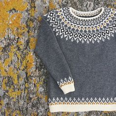 Ravelry: Starfall pattern by Jennifer Steingass Ravelry: Starfall pattern by Jennifer Steingass Fair Isle Knitting Patterns, Fair Isle Pattern, Sweater Knitting Patterns, Knit Patterns, Free Knitting, Icelandic Sweaters, Quick Knits, Pulls, Knit Crochet