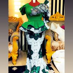 native skirt and blouse styles,latest ankara skirt and blouse styles ankara skirt and blouse African Dresses Plus Size, African Wear Dresses, Latest African Fashion Dresses, African Clothes, Latest Gown Styles, Ankara Skirt And Blouse, Ankara Dress, African Print Skirt, Blouse Styles