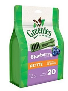 Greenies  Dog Treats 1525lb Bursting Blueberry Petite 20 ea  12 oz 3 pack ** Details can be found by clicking on the image. (This is an affiliate link)