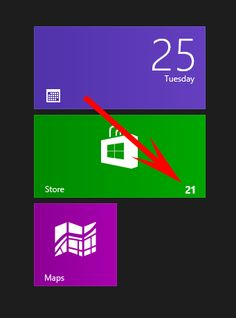Tip: How to install Windows 8 Metro app updates with one click [Tutorial]
