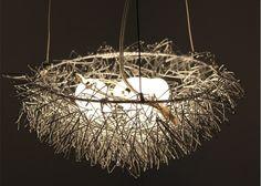 En gros Nid D'oiseau Lumière Lustre pendentif lampe éclairage résidentiel dans…