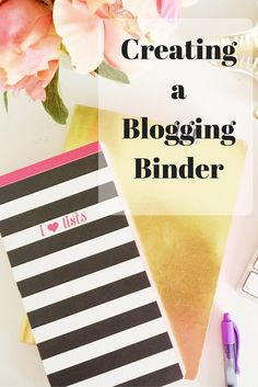 Needing to get your blogging work and life organized?  In this post, I highlight everything that has gone into my blogging binder to make my days and months run a little more smoothly.