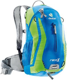 Cheap Deuter Race X w/ Res. Hydration Backpack (One Size, Kiwi/Ocean) Best Ultralight Backpack, Best Travel Backpack, Ultralight Backpacking, Hiking Backpack, Camping And Hiking, Hiking Gear, Kiwi, Best Charcoal Grill, Survival Backpack