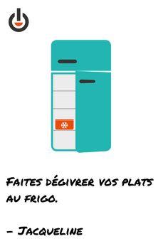 Votre frigo dépense moins d'énergie pour conserver sa température et vos aliments décongèlent en douceur !