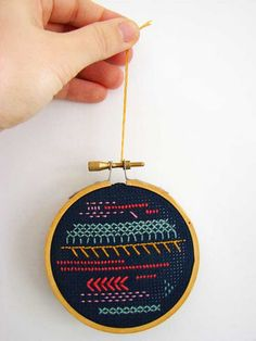 Handmade ornament via Aesthetic Outburst.