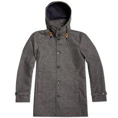 Journal Standard Hooded Soutien Collar Coat
